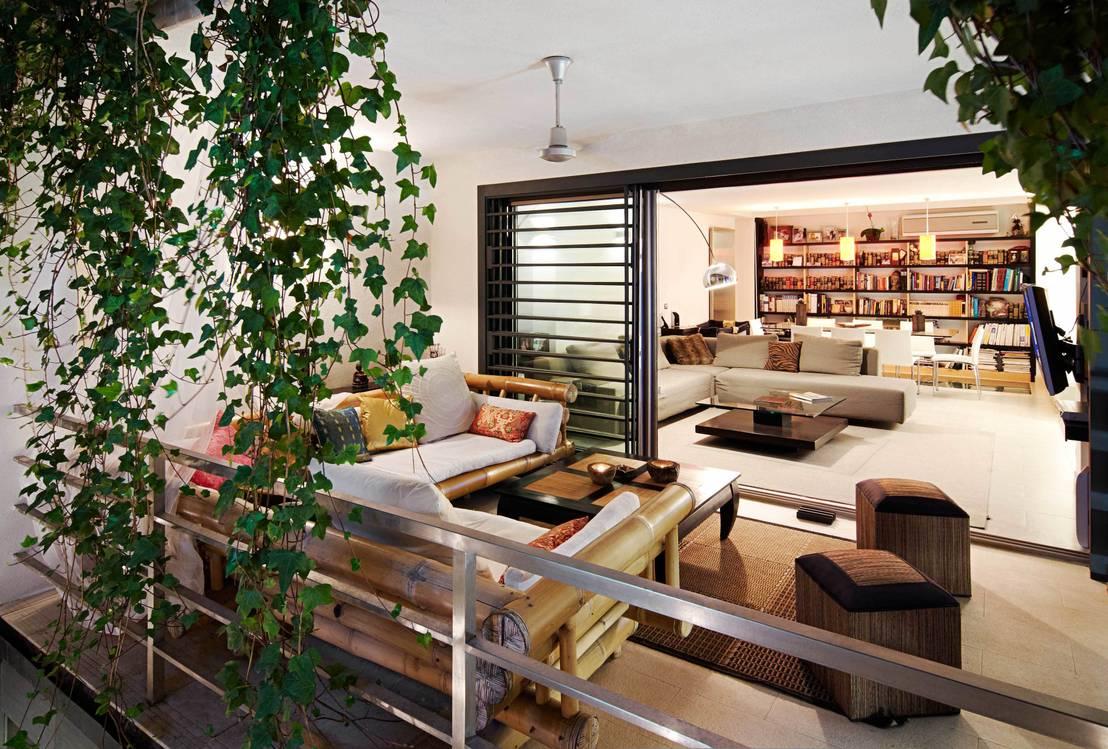 5 dise os increibles de terrazas con bamb for Disenos de terrazas exteriores