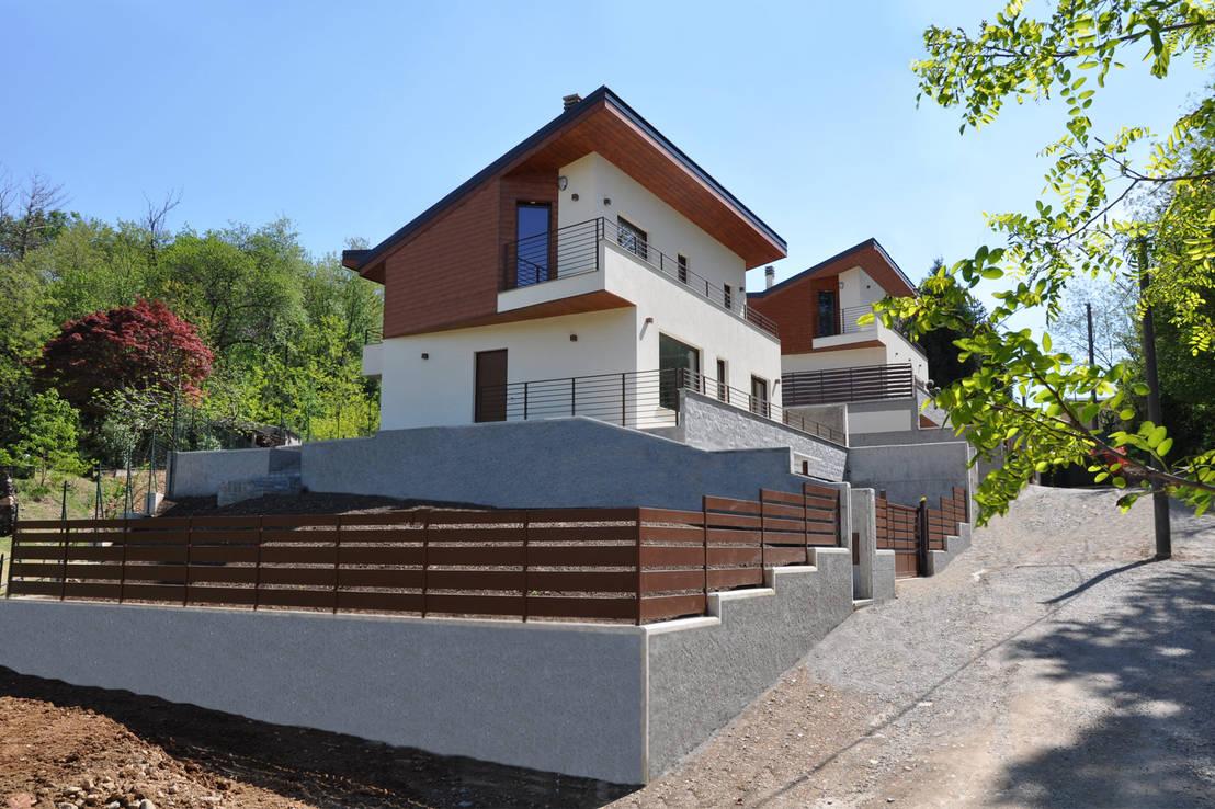 Case terrazze monticello di emmanuello architettura for Homify case