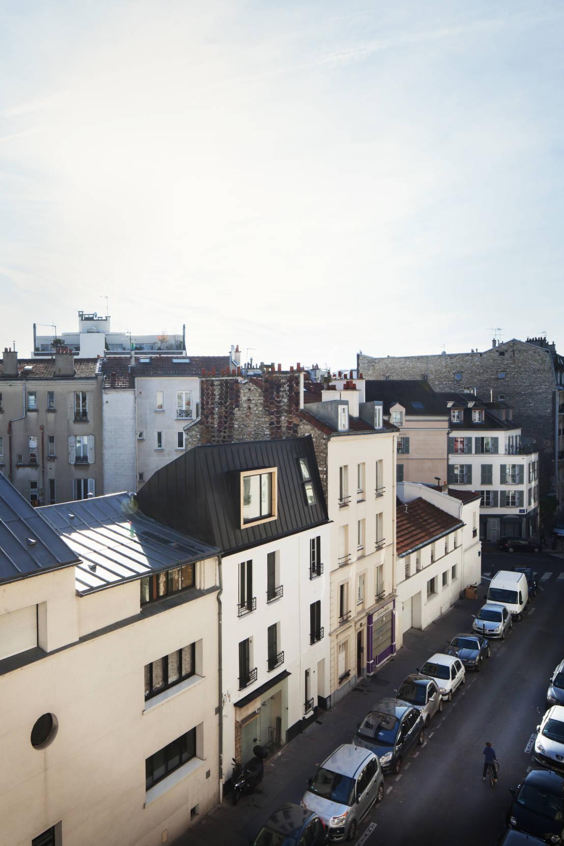 Sur l vation boulogne billancourt par malbrand architectures homify - Maison s par domenack arquitectos ...