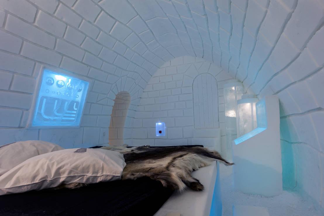 Ice hotel de pin pin homify for Muebles de cocina alve