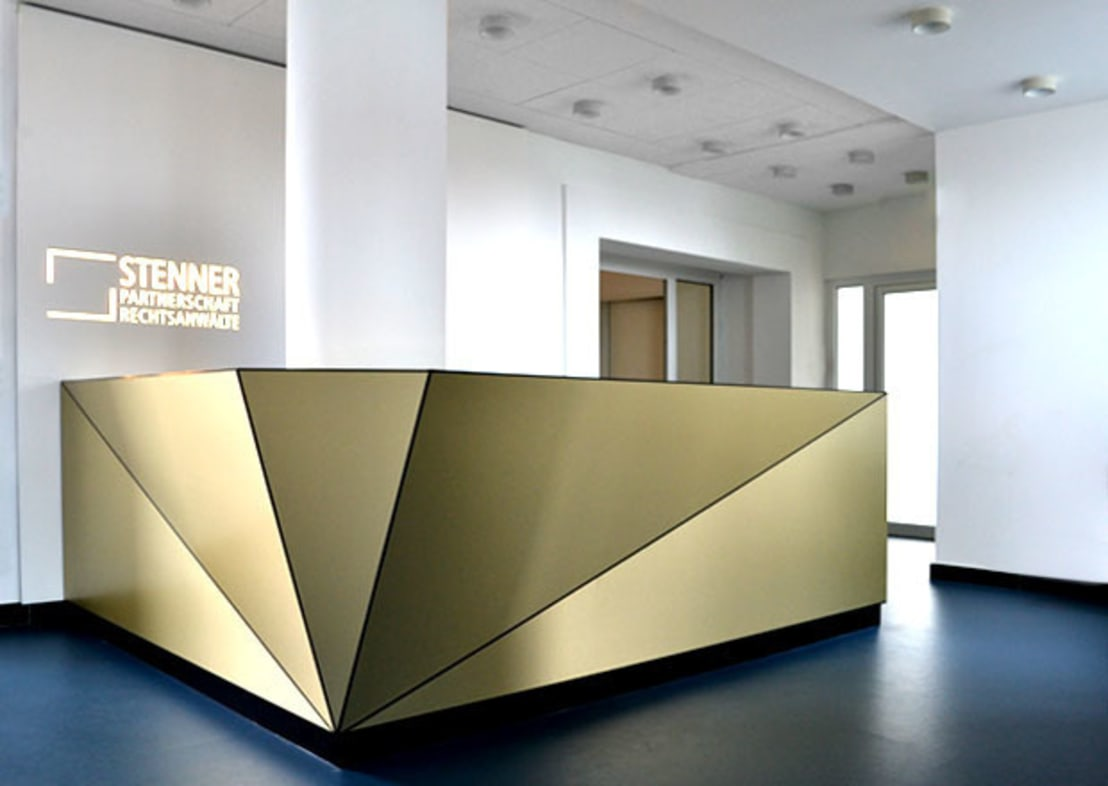 Interior and corporate design stenner rechtsanw lte for Interior design gmbh