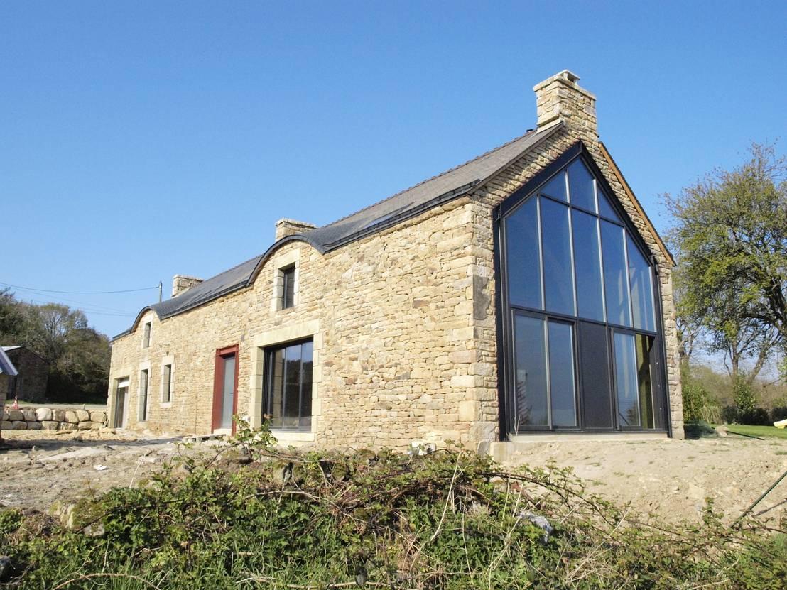 Long re par lcd architecture interieure design homify - Maison bretonne moderne ...