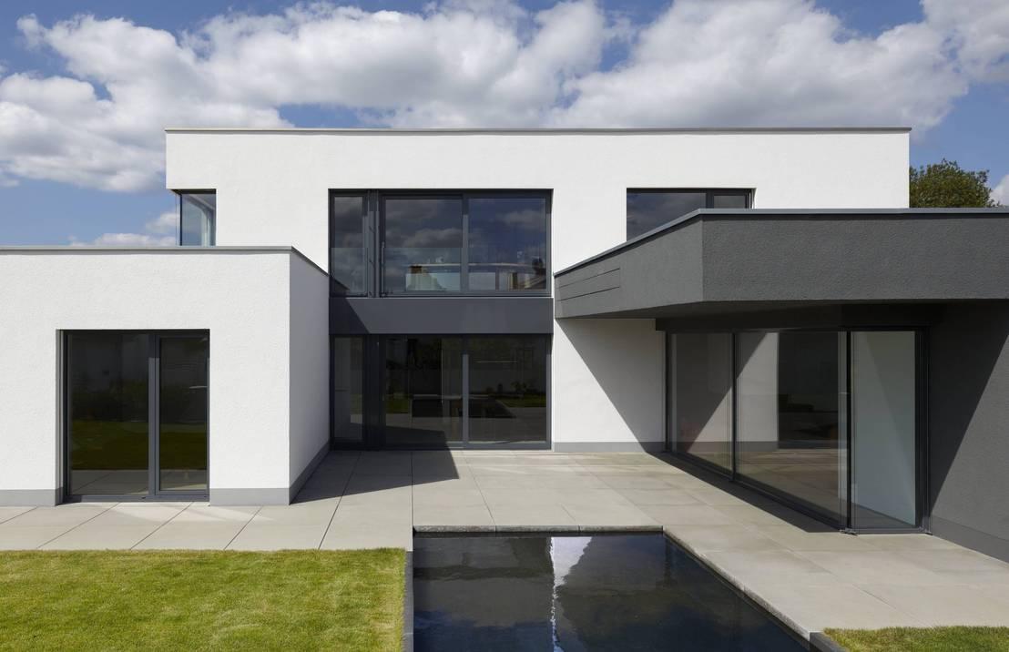 Ein klar definiertes haus for Haus bauen moderne architektur