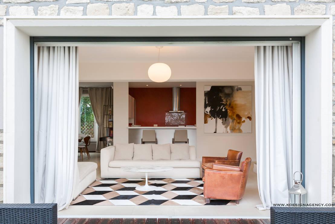 r novation maison r gion parisienne por k design agency. Black Bedroom Furniture Sets. Home Design Ideas