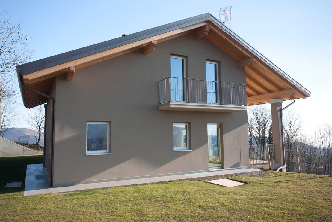 La casa m s r stica minimalista que ver s en tu vida for Casa minimalista rustica
