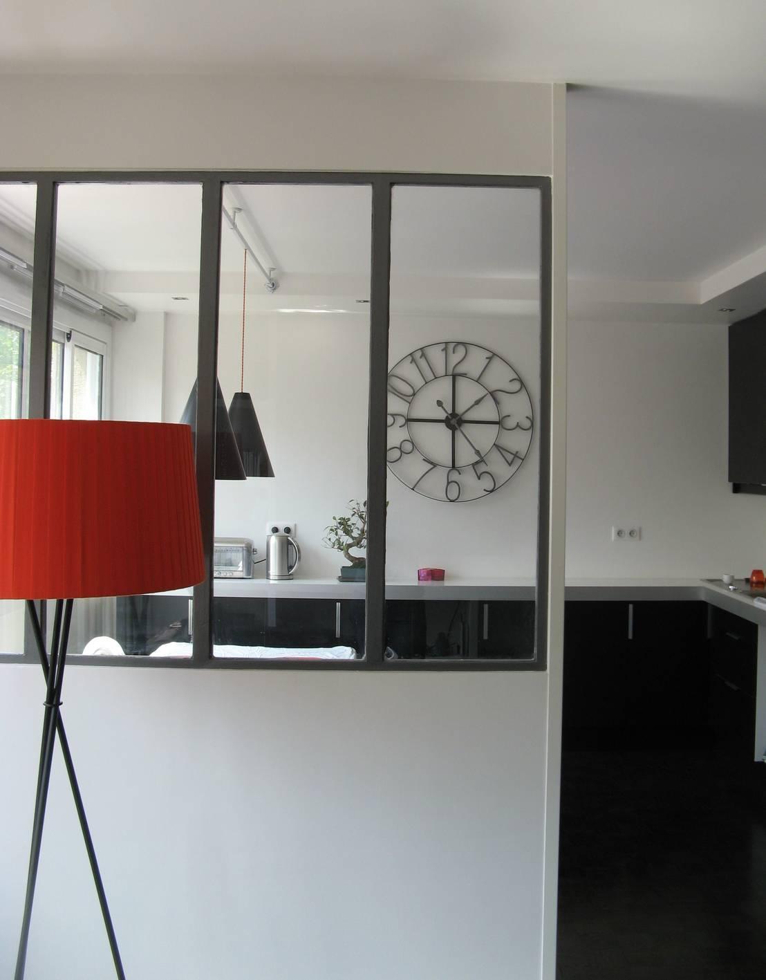 Espaces d co un appartement des ann es 70 revu et for Deco appartement 70 m