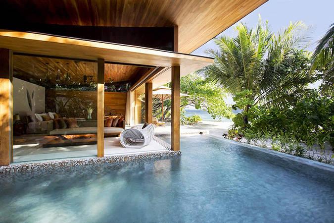Una tettoia in legno per vivere l'outdoor in sicurezza