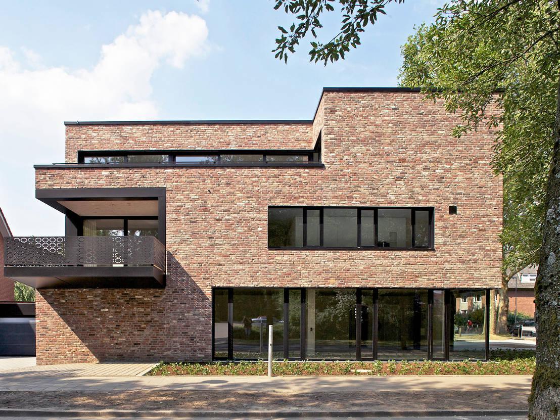 Homify 360 modernes klinkerhaus in m nster for Klinkerhaus modern