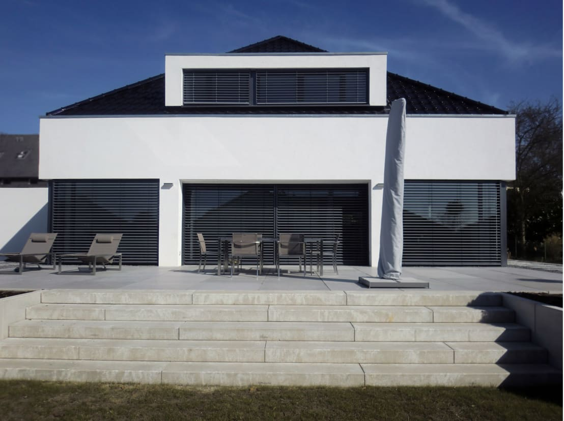 Gronemeyer architekten ausgefallener bungalow mit for Architekten bungalow modern