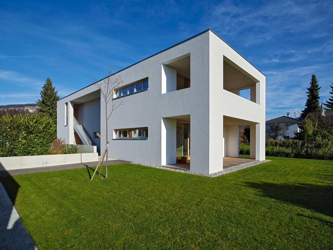 modern wohnen im zweifamilienhaus. Black Bedroom Furniture Sets. Home Design Ideas