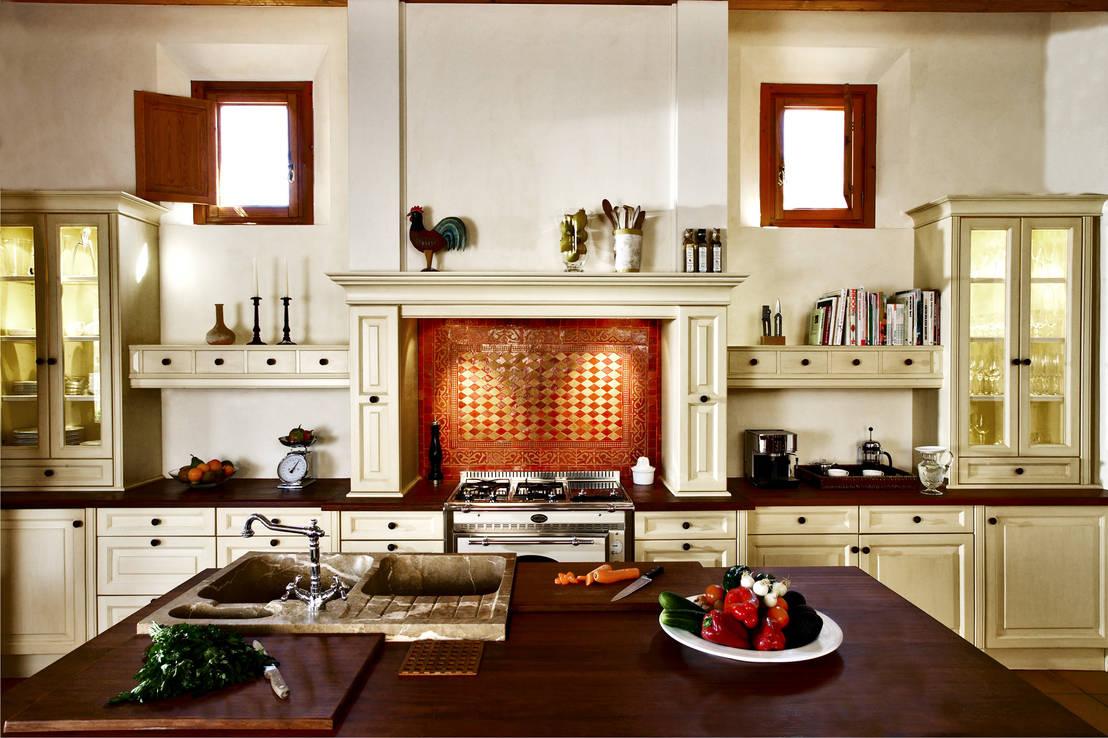 die k che mediterran einrichten. Black Bedroom Furniture Sets. Home Design Ideas
