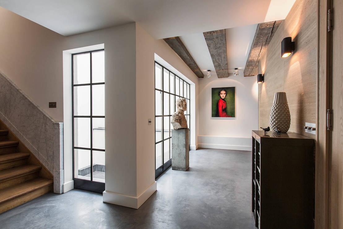 7 steengoede ideeën om beton in je huis te integreren