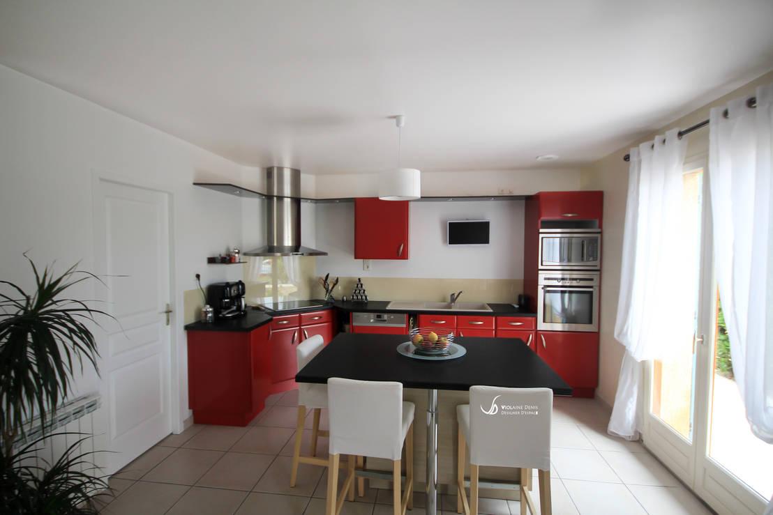 r novation d 39 une cuisine por violaine denis homify. Black Bedroom Furniture Sets. Home Design Ideas