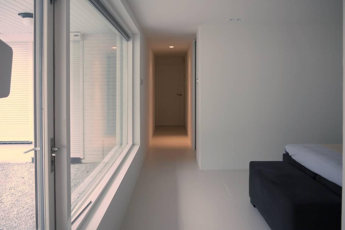 Inloopkast slaap badkamer hoogerheide door leonardus interieurarchitect homify - Foto van volwassen slaapkamer ...