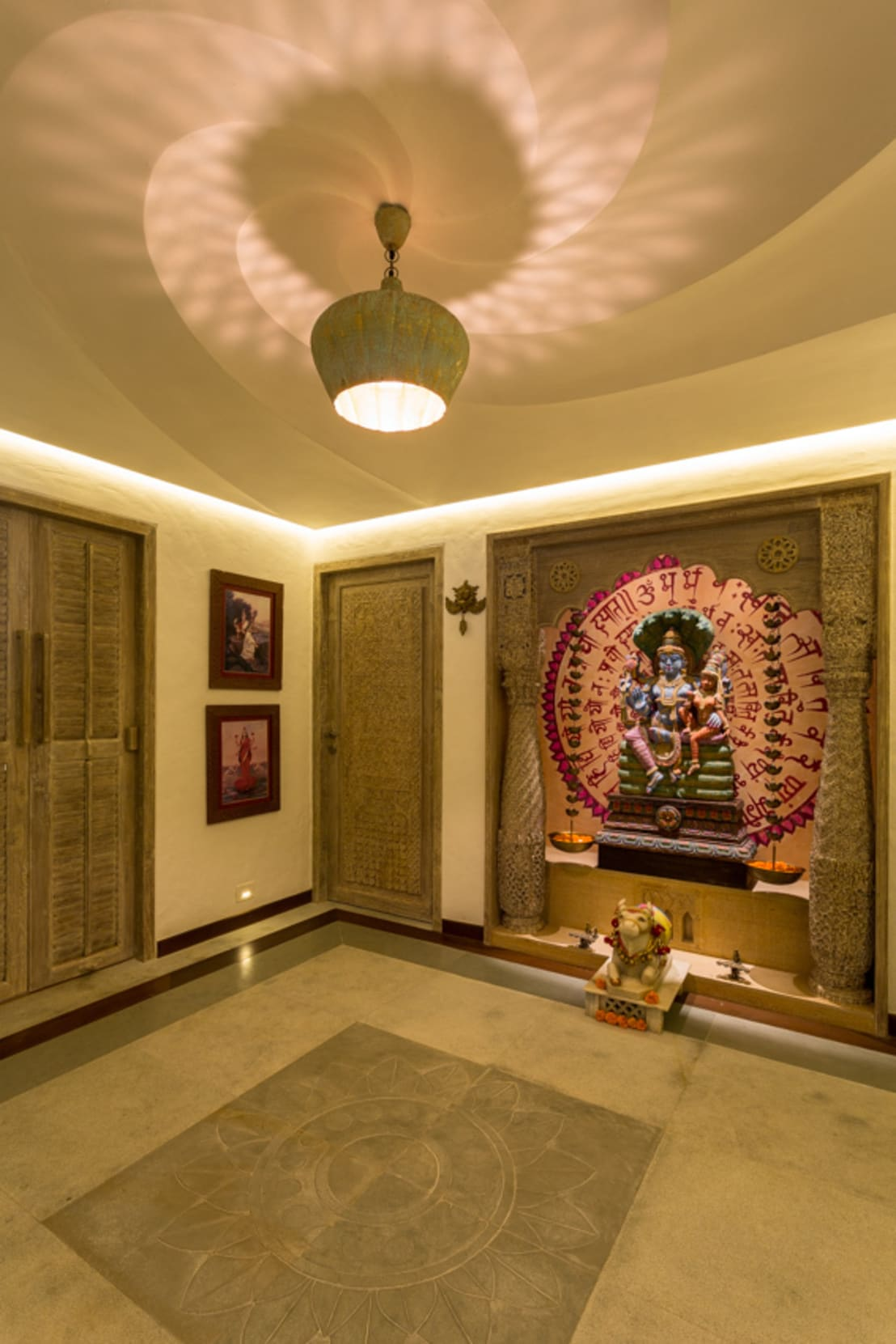 India Poojaroom Design 3d: 7 Sacred Pooja Room Designs For Your Home