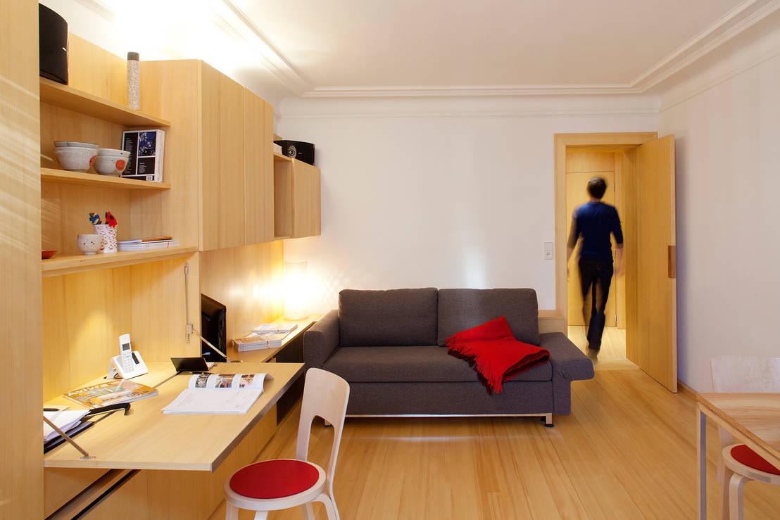 studio dominique gauzin m ller de fabienne bulle architecte associ s homify. Black Bedroom Furniture Sets. Home Design Ideas