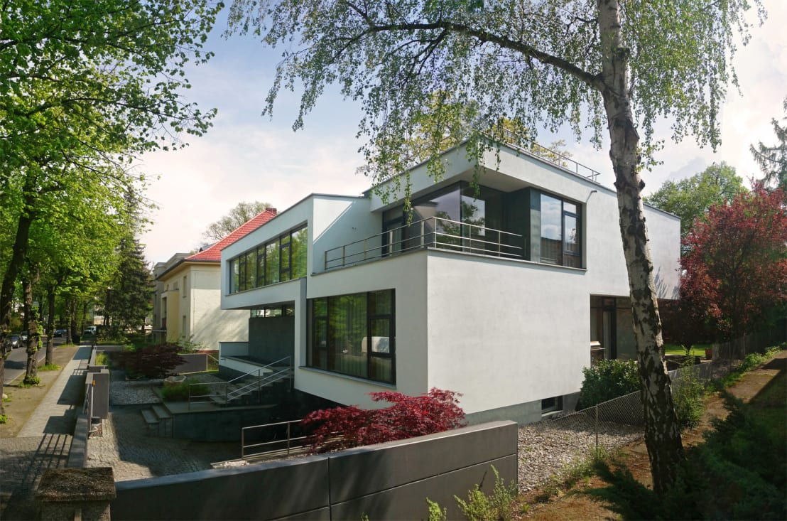flow architektur modernes designhaus homify. Black Bedroom Furniture Sets. Home Design Ideas
