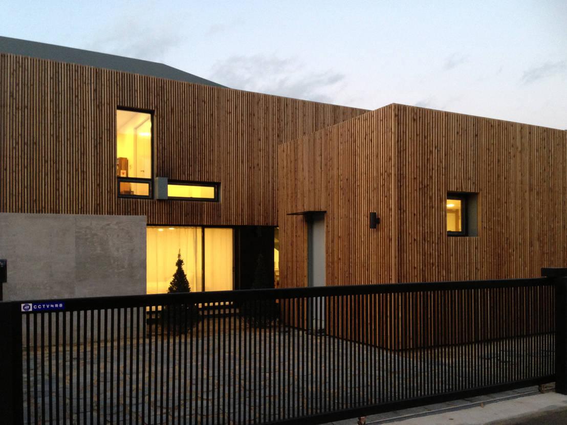 Minimalistisch huis in Oosterse sferen
