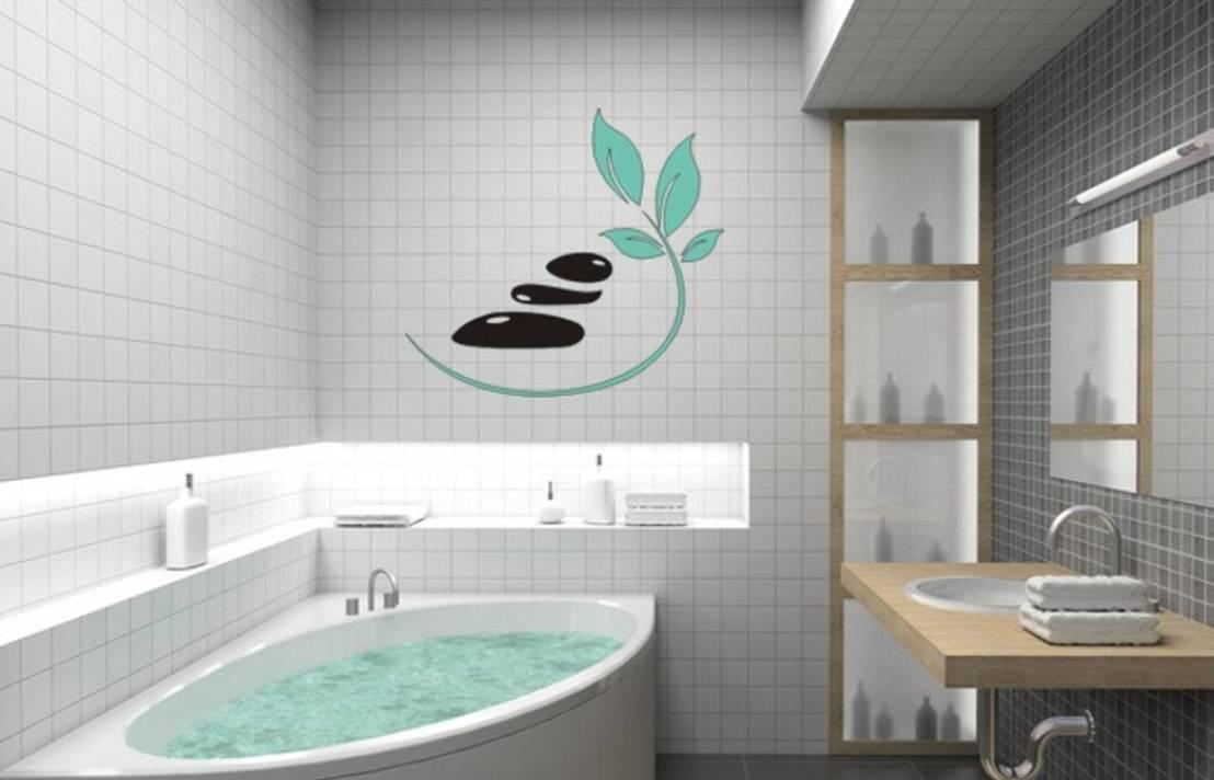 wandtattoos bad von designer homify. Black Bedroom Furniture Sets. Home Design Ideas