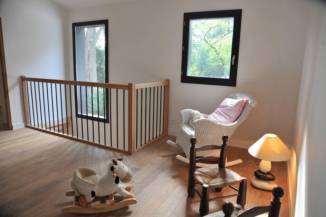 maison ossature bois oullins por bfg cadre de vie homify. Black Bedroom Furniture Sets. Home Design Ideas