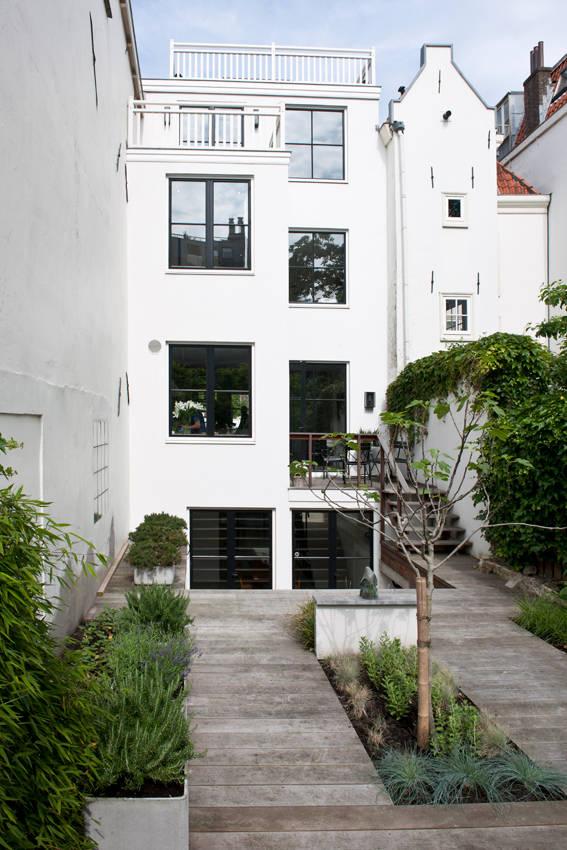 Een grachtenpand met een fantastisch industrieel interieur - Interieur oud huis gerenoveerd ...
