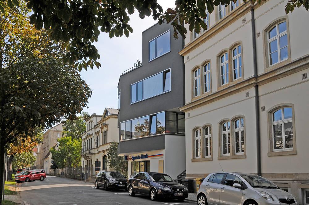 Wohn und b rogeb ude dr w k lz stra e 13 in pirna por - Seidel architekten ...
