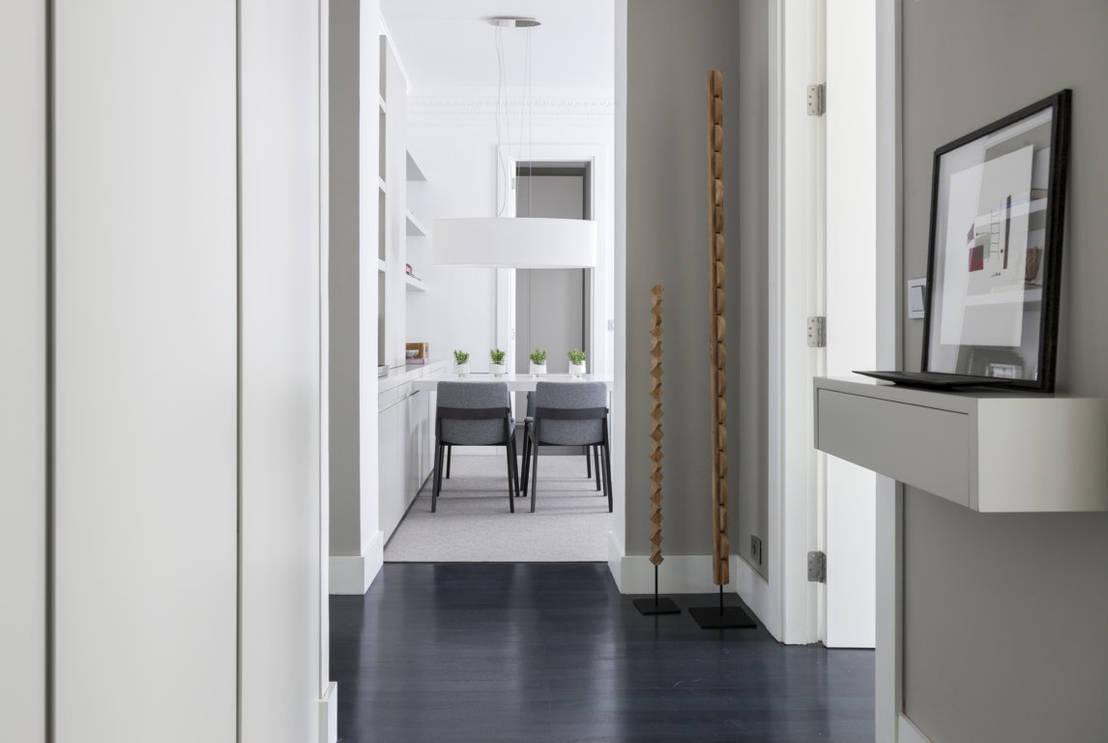 Vivienda centro de bilbao de silvia reguera interiorismo for Decoradores de interiores en bilbao
