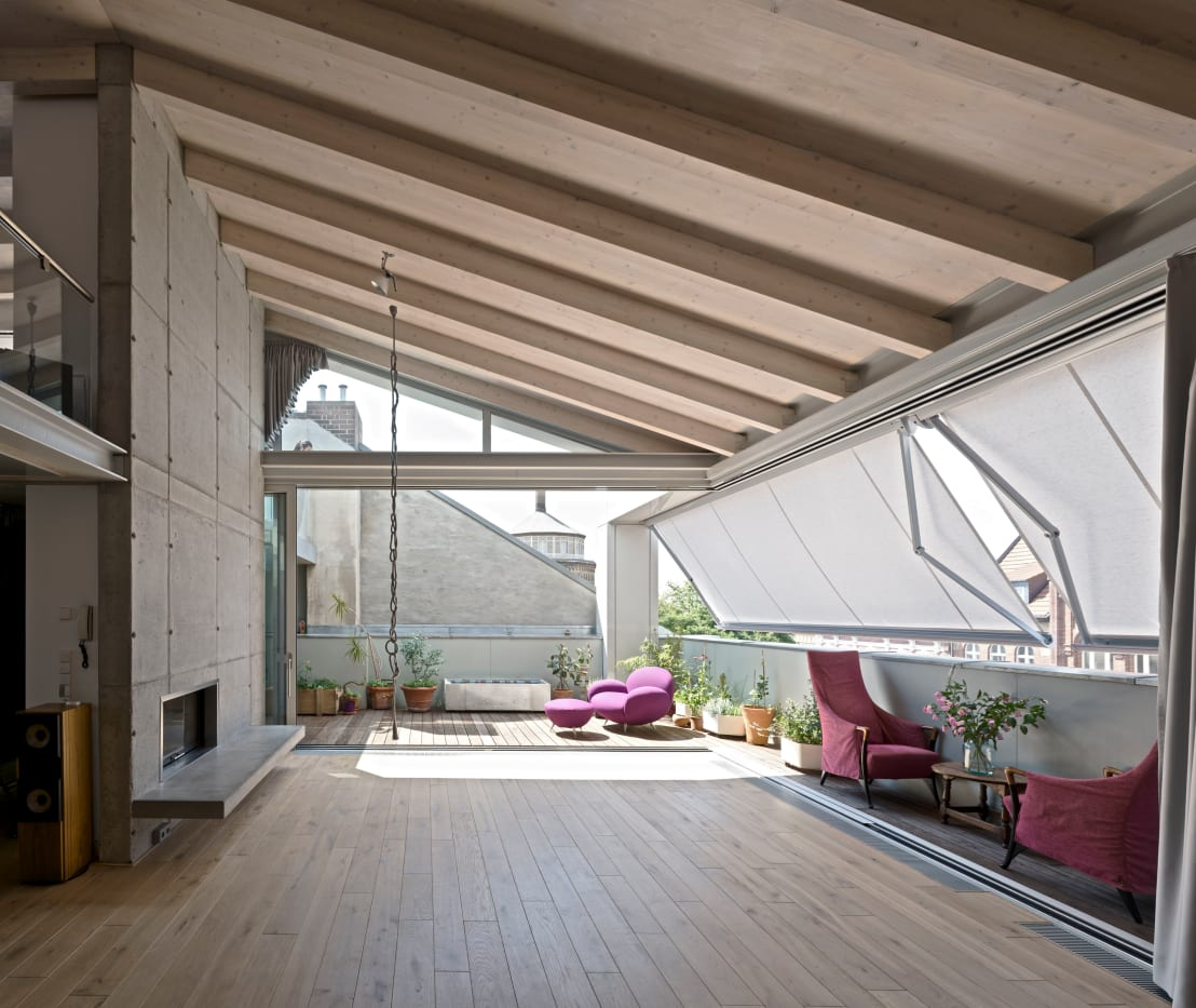 hs architekten bda stadthaus 2 homify. Black Bedroom Furniture Sets. Home Design Ideas