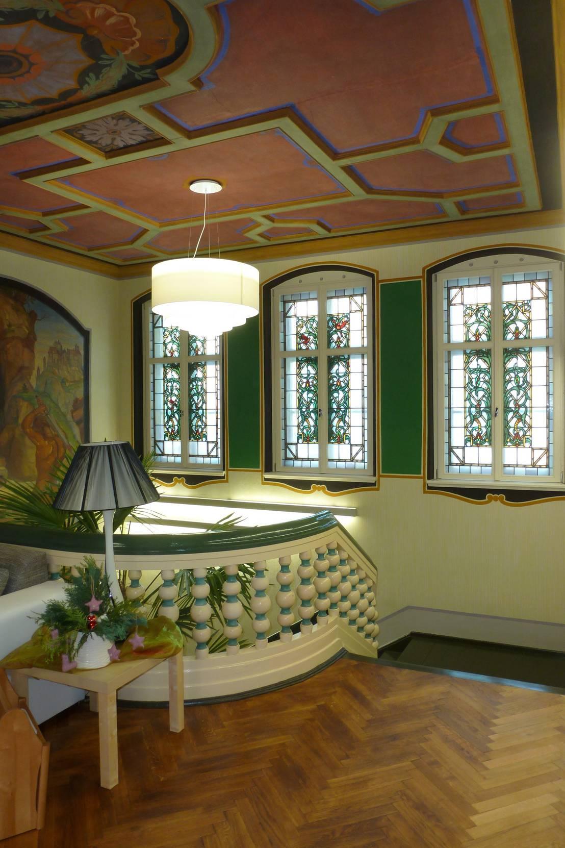 umbau der denkmalgesch tzten schustervilla zum hospiz por b ro f r architektur und. Black Bedroom Furniture Sets. Home Design Ideas