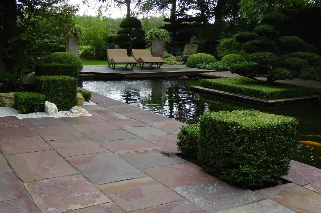Eitelkeit Homify Garten Dekoration Von