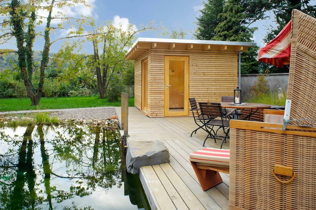 Sauna f rs badezimmer