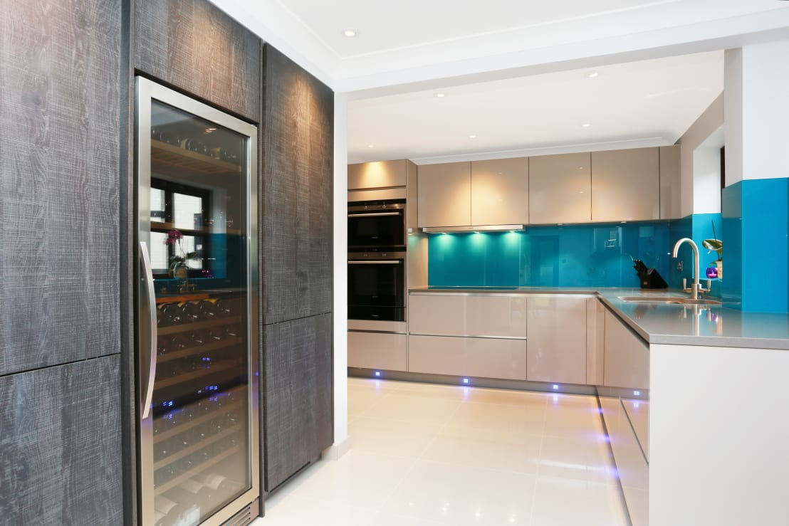 Grey kitchen modern kitchen london by lwk kitchens london - Grey Kitchen Modern Kitchen London By Lwk Kitchens London 5