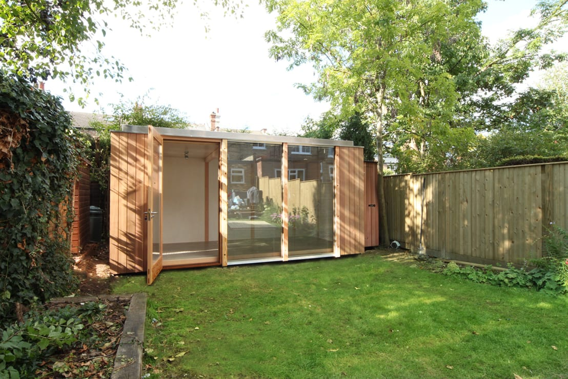 3 bay modular garden room de 3rdspace homify for Modular garden rooms
