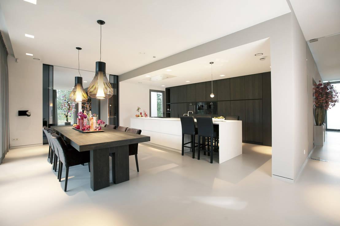 Villa gelderland by studio kap berk homify for Villa moderne interieur