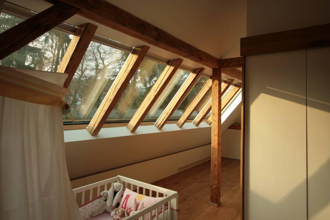 Bjoernschmidt architektur dachausbau kleine villa bad for Fenster joseph