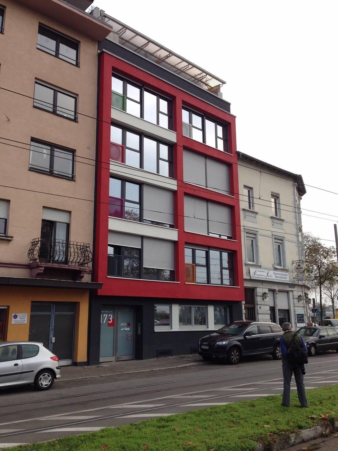 Wohnen in mannheim di b ser architektur homify - Architektur mannheim ...