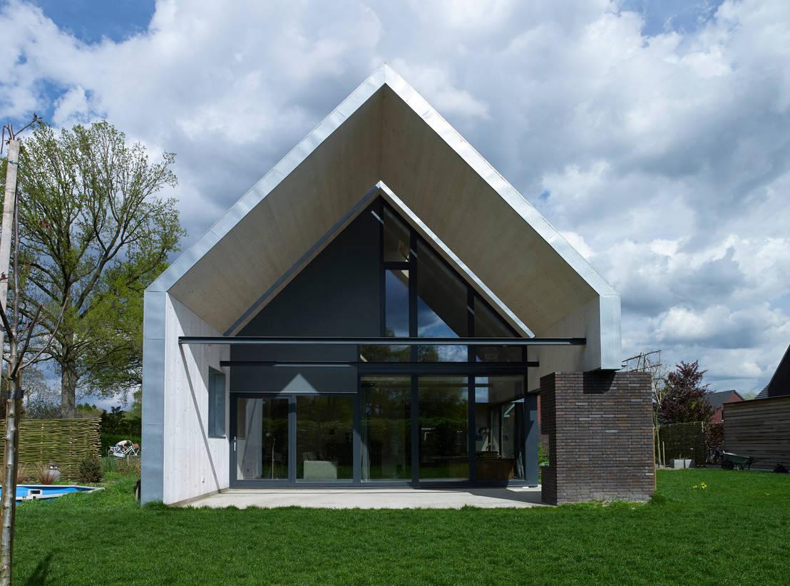 Passiefhuis witven door thomas kemme architecten homify for Afbeelding van moderne huizen