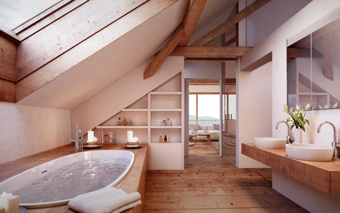 Badkamer en suite wie wil dat nou niet - Kleedkamer suite badkamer kleedkamer ...