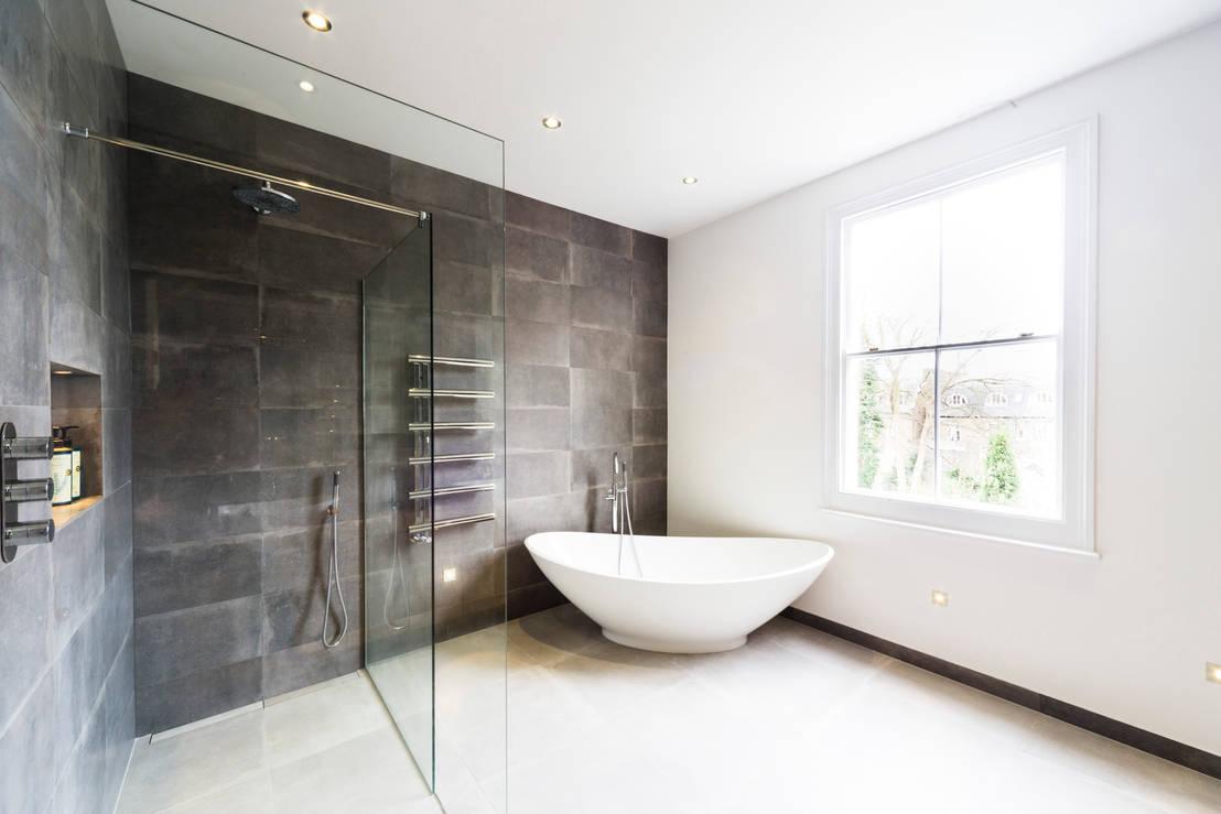Affleck Property Services Modern Bathroom Design And Installation Clapham London Homify