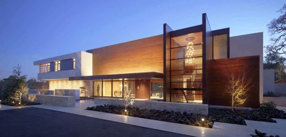 maison moderne ossature bois par belles demeures en bois. Black Bedroom Furniture Sets. Home Design Ideas
