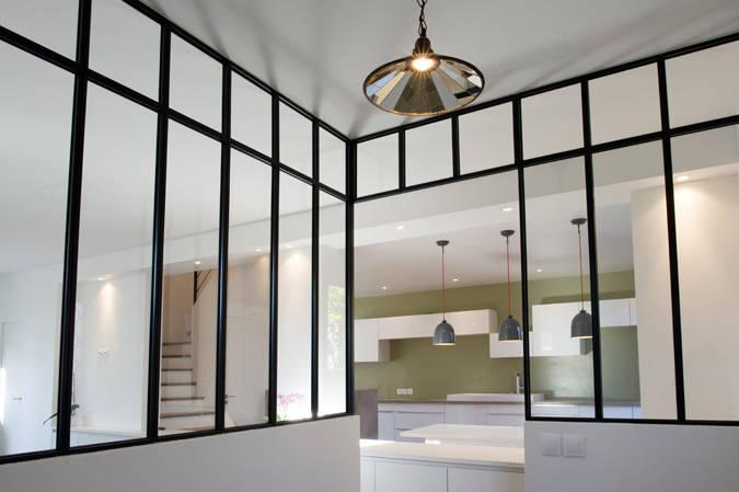 Kleur schilderij entree corridor maison design obas.us