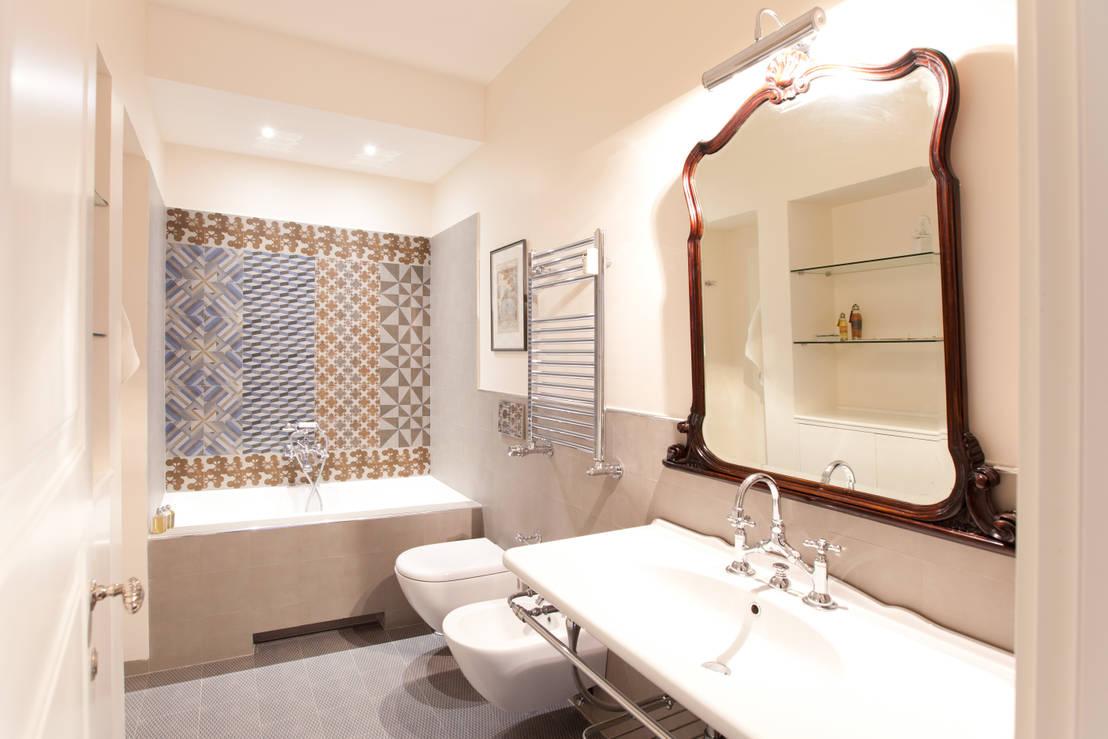 Come scegliere le luci per il bagno for Foto di casa in stile ranch