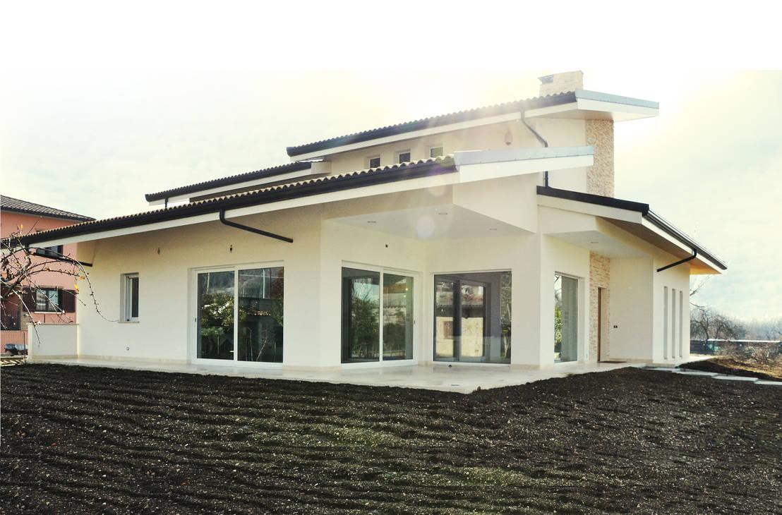 La casa dove vorrai vivere con la tua famiglia for Vetrate case moderne
