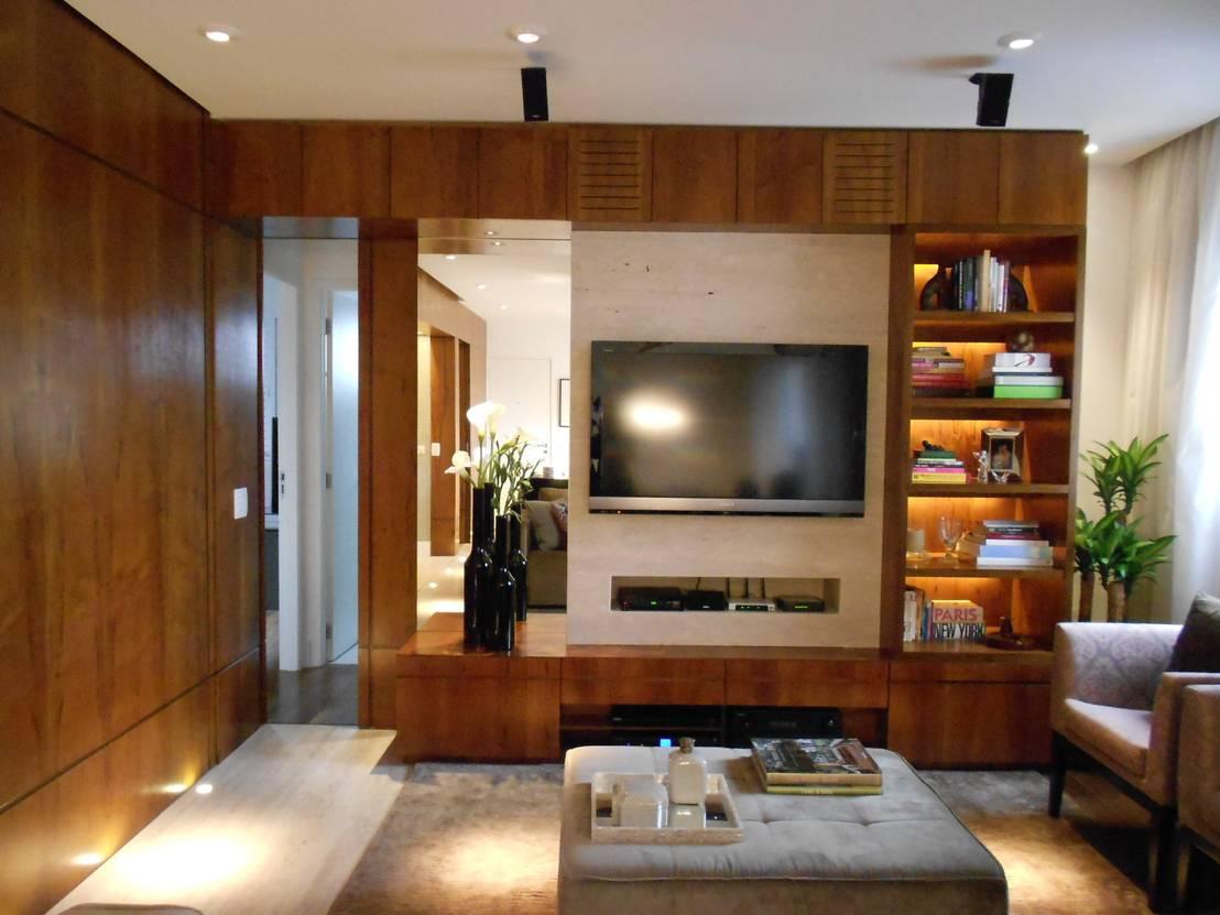 apto morumbi von compondo arquitetura homify. Black Bedroom Furniture Sets. Home Design Ideas