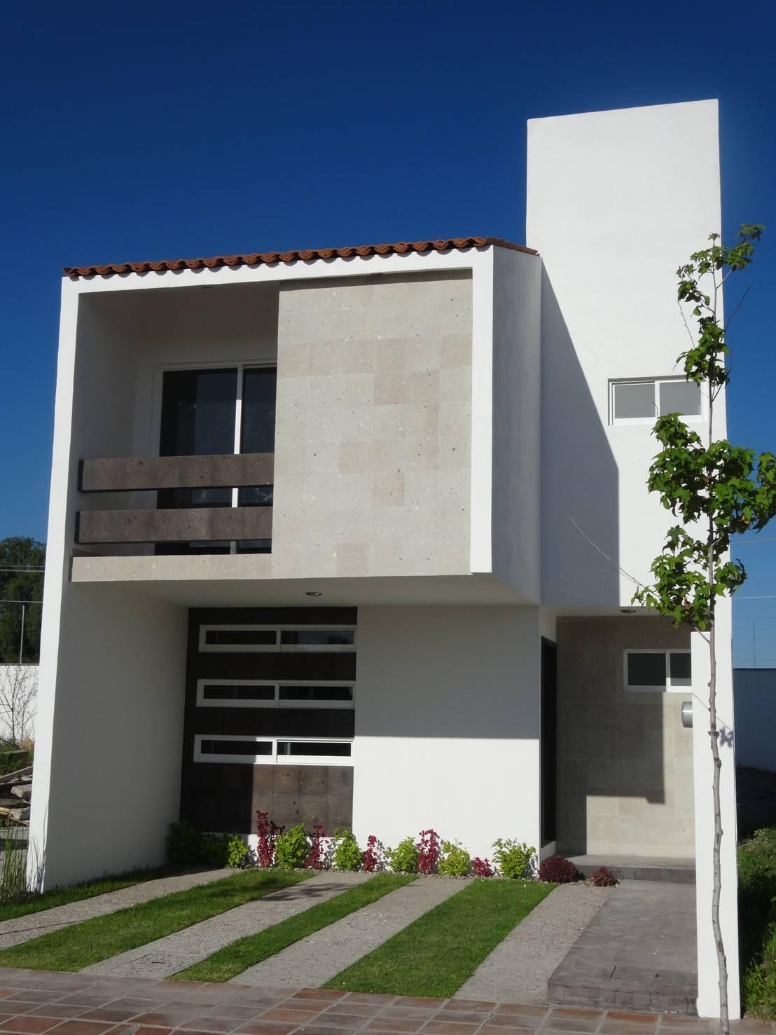 Casa ped de constructora arqoce homify for Homify casas
