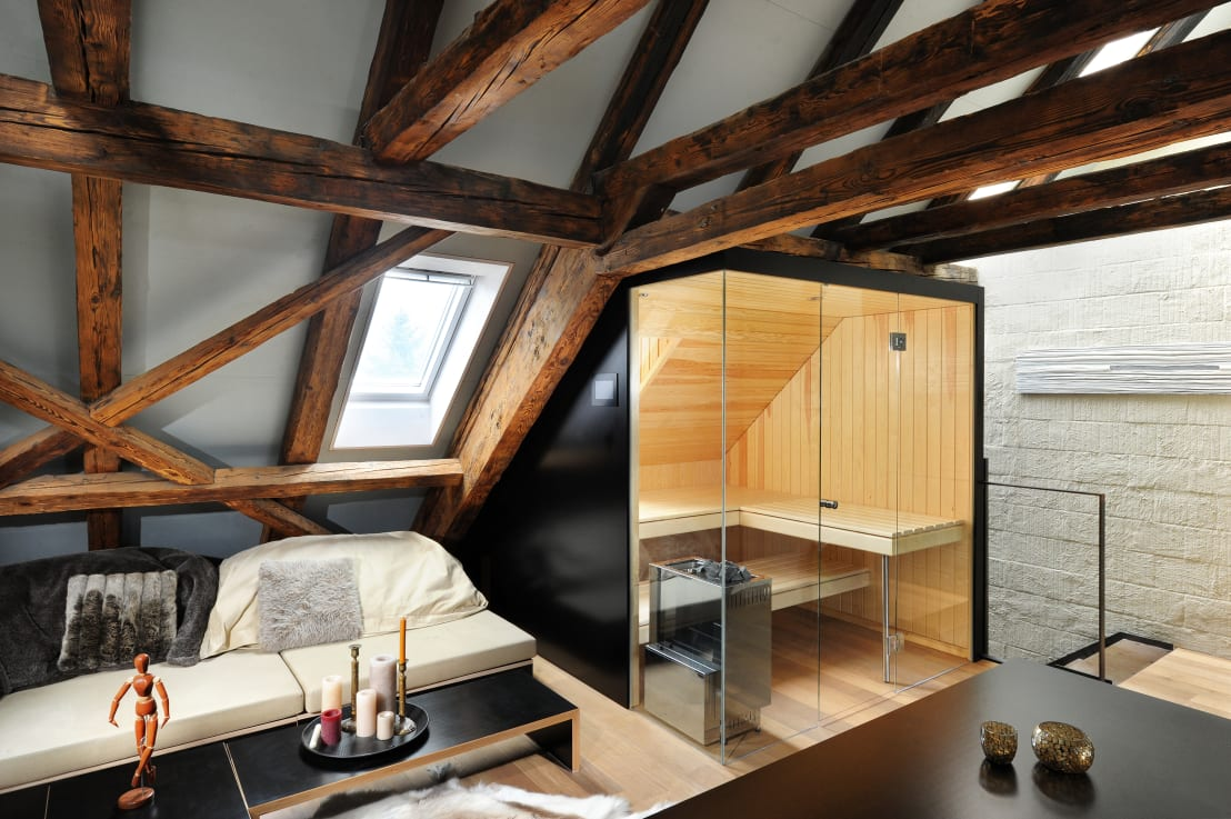 sauna nach mass von k ng ag saunabau homify. Black Bedroom Furniture Sets. Home Design Ideas