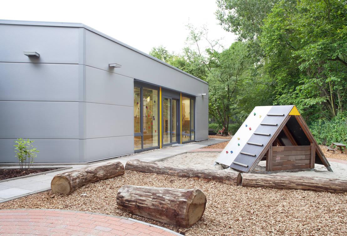 Rtw architekten kindergarten waldheim homify - Rtw architekten ...