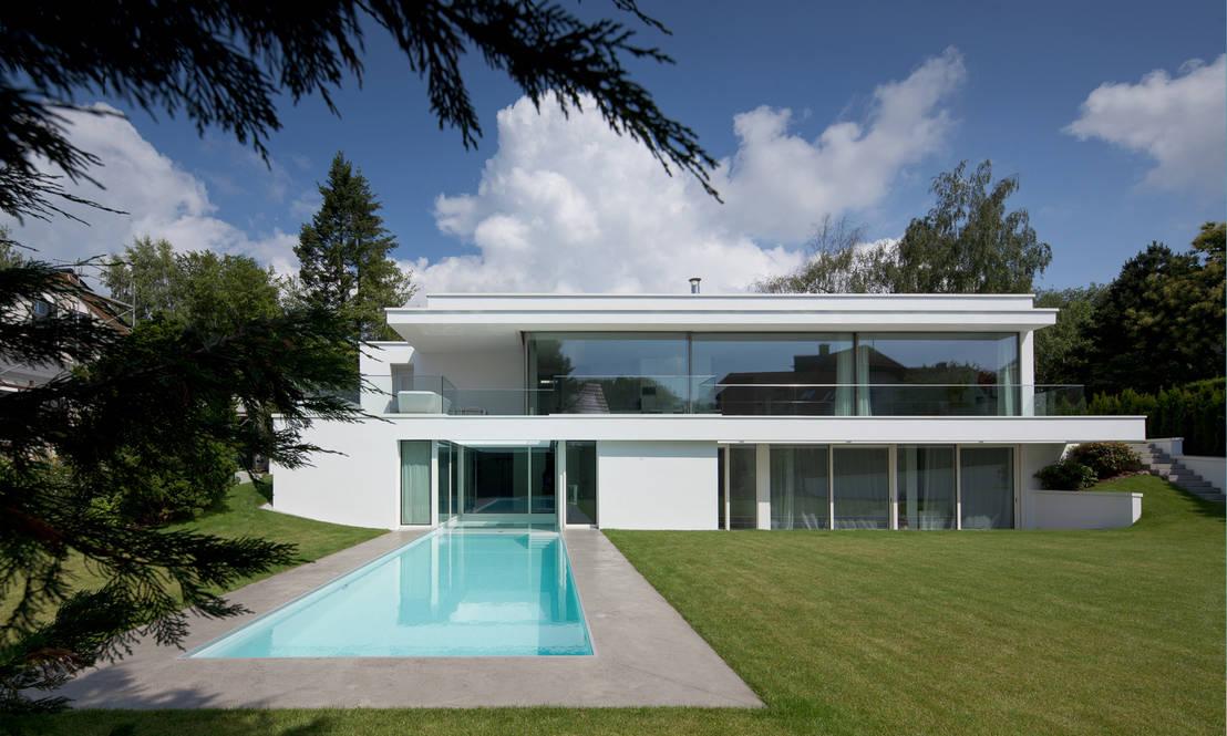Haus von stein von philipp architekten anna philipp homify - Philipp architekten ...
