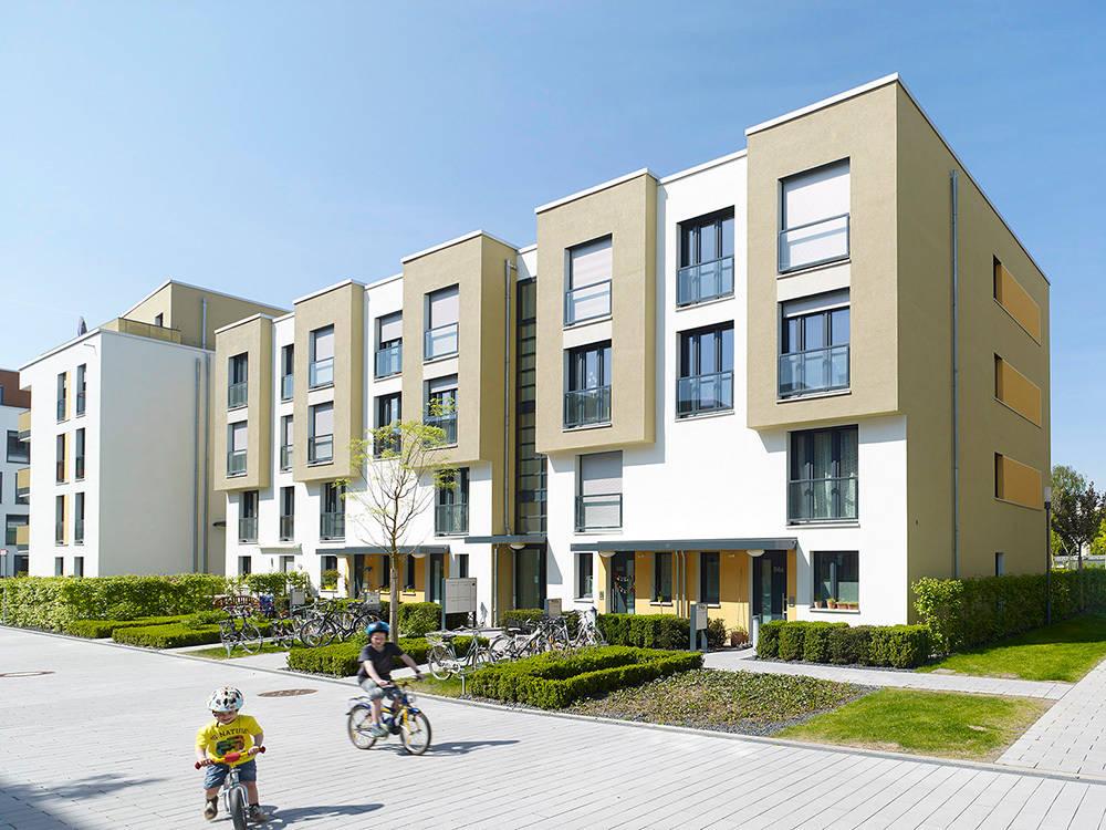 Vorgebirgsg rten wohnungsbau k ln von planquadrat elfers - Planquadrat architekten ...