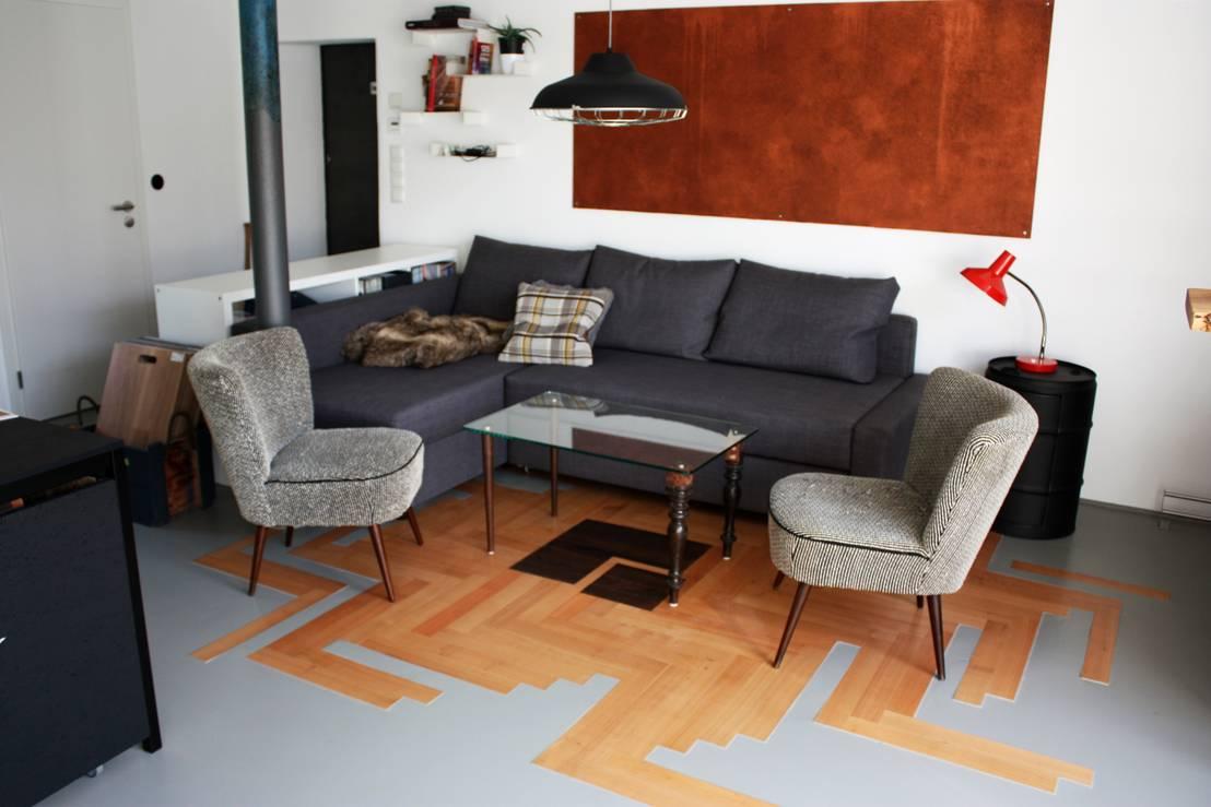 Kernsanierung Von Garage Zu Büro: Ausgefallene Arbeitszimmer Von Fischer  Raumgestaltung